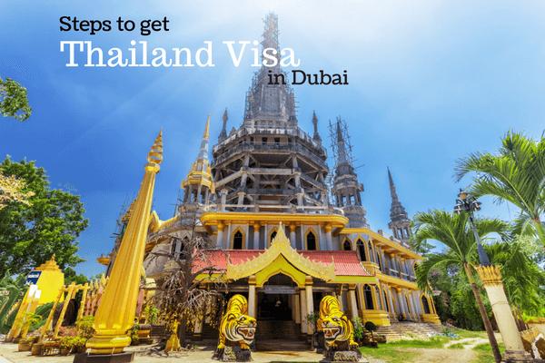 Steps to get Thailand Visa in Dubai