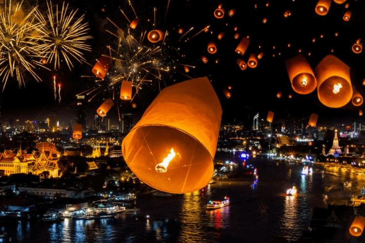 New Year Celebrations in Thailand