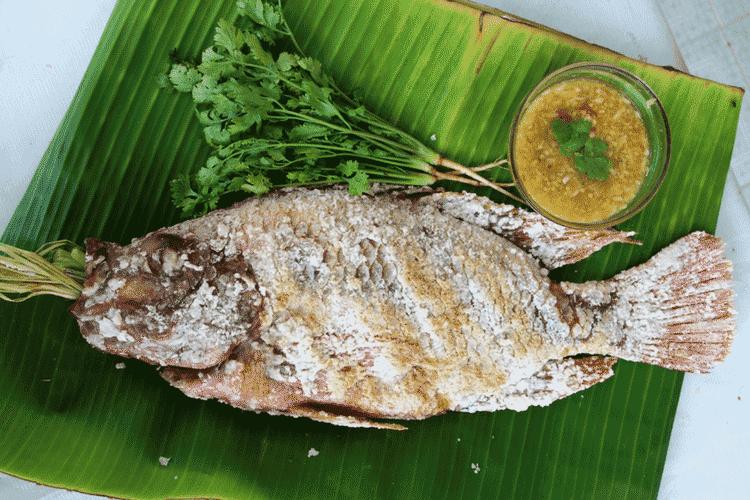Thai Grilled Seafood
