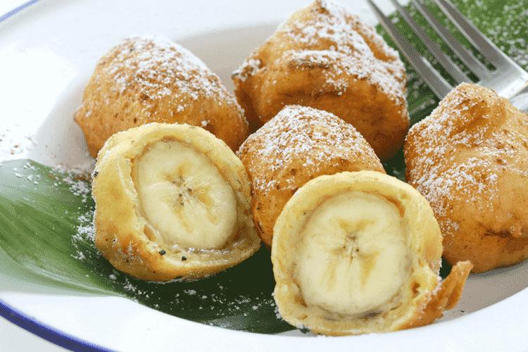 Thai Fried Banana Desert