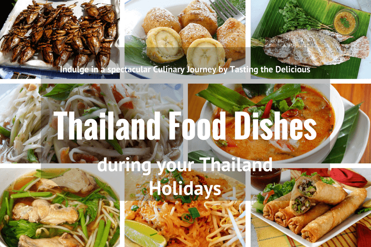 Thailand Food Dishes during your Thailand Holidays