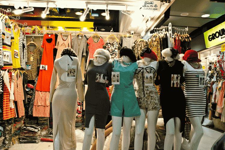 Fashion Clothing Shops, Bangkok