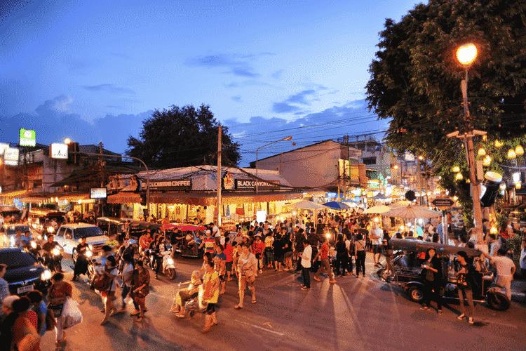 Chiang Mai Night Markets & Walking Streets