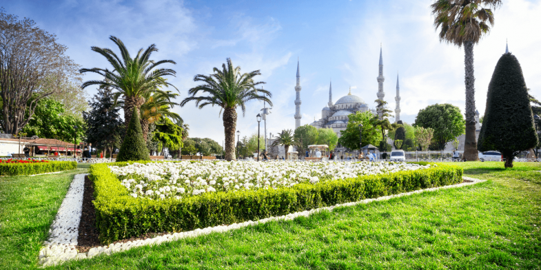 Sultan Ahmed Mosque, Istanbul, Turkey