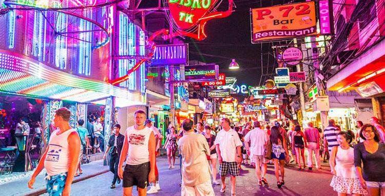 Party at Walking Street, Pattaya