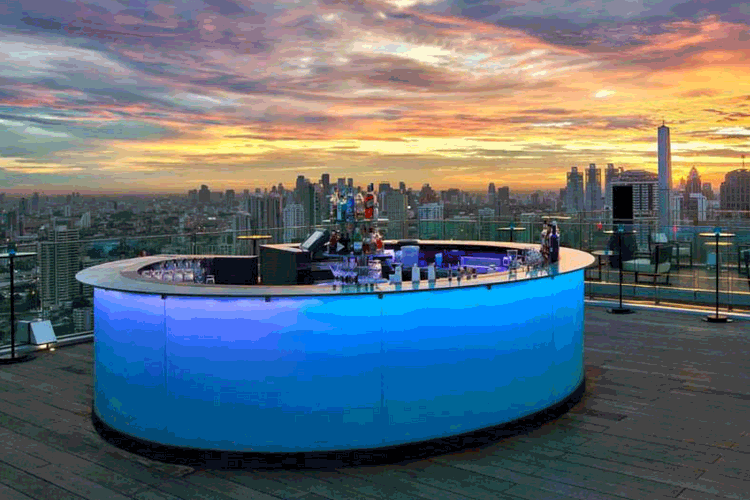 Octave Rooftop Bar, Marriott Hotel Sukhumvit