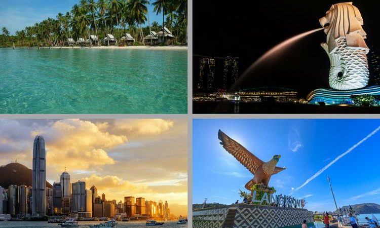 Asian Countries to visit this Christmas and New Years Eve