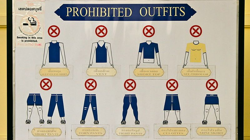 Grand Palace Dress Code images