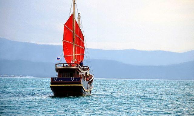 Red Baron Junk Sail