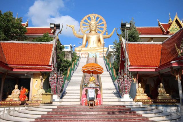 Samui Big Buddha is one of the free things to do in Koh Samui