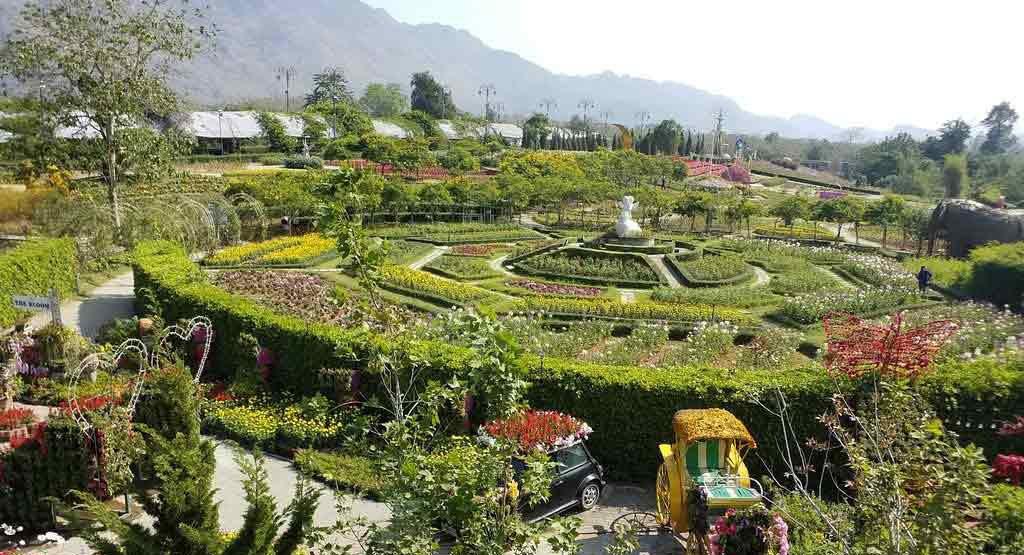 Flower Gardens in Khao Yai National Park